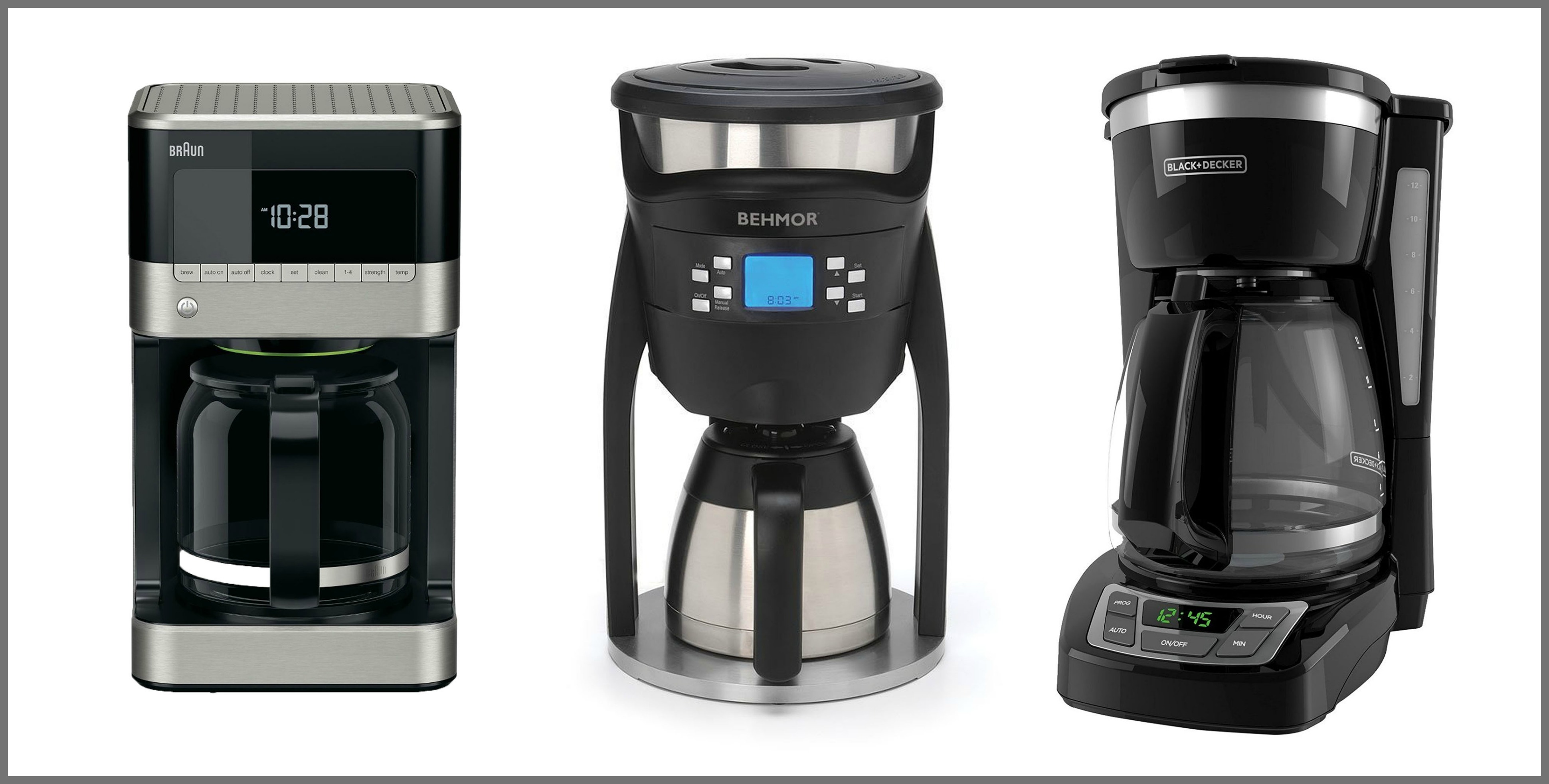 12 Best Drip Coffee Makers 2017 Top Rated Coffeemaker