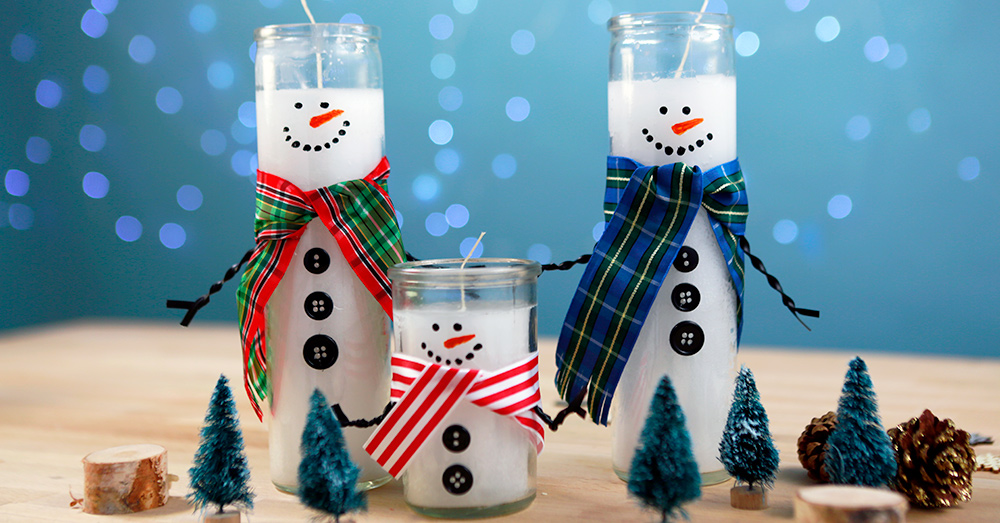 How to Turn Dollar Store Candles Into