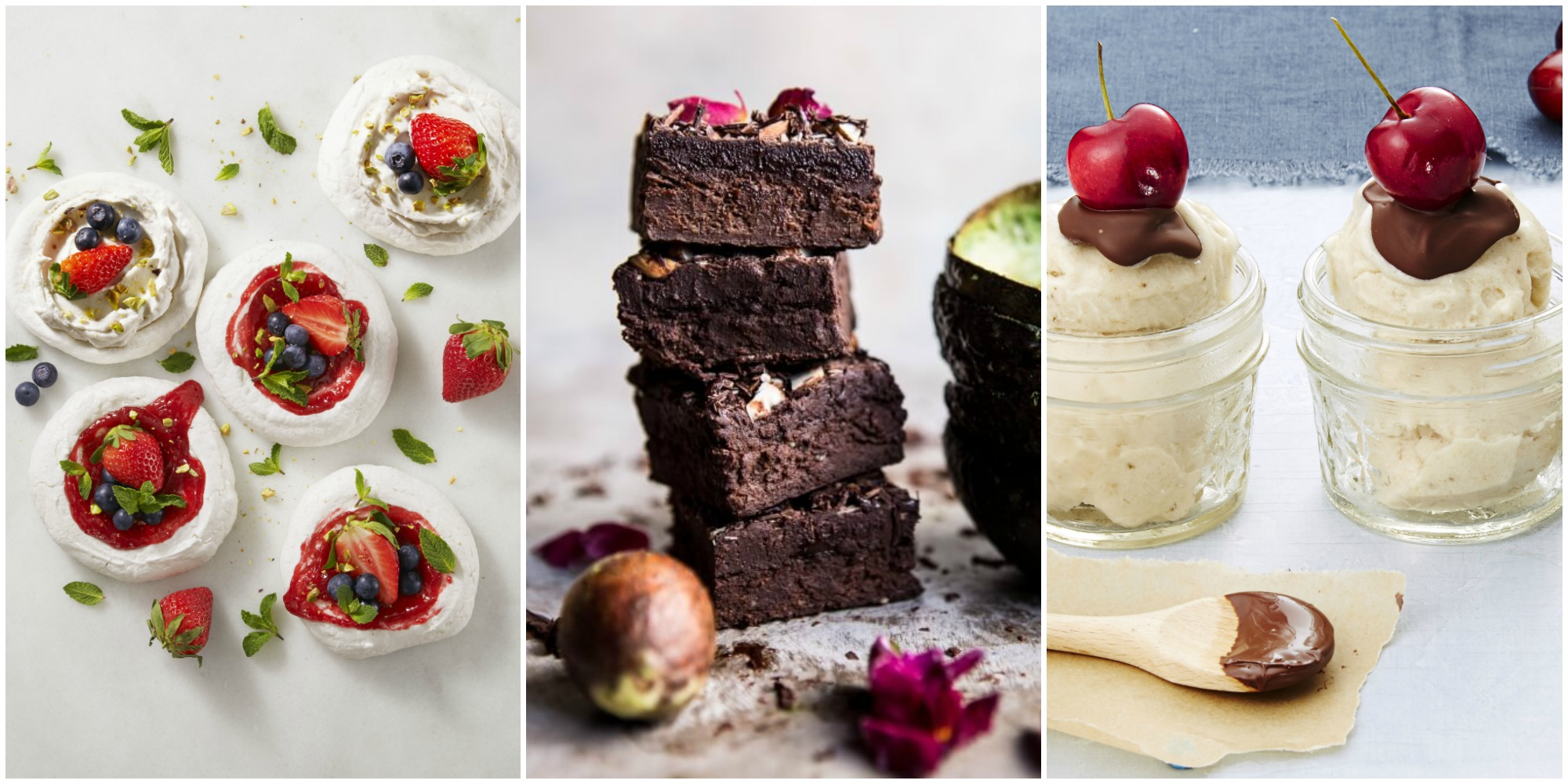healthy dessserts Can't get dessert off your mind you can still have your cake and eat it too,  without spoiling a day of healthy eating whip up one of these 19 healthy desert.