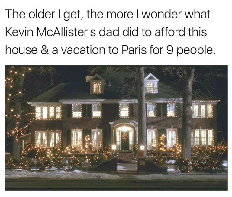 Here's How Much Money Kevin's Dad Spent in