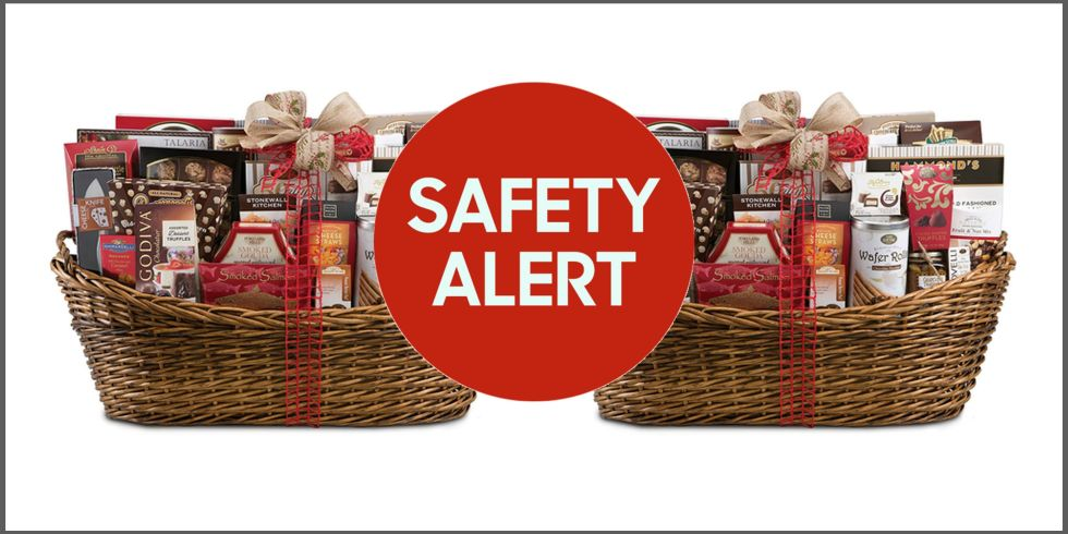 wine country gift baskets recalled due to salmonella risk blue