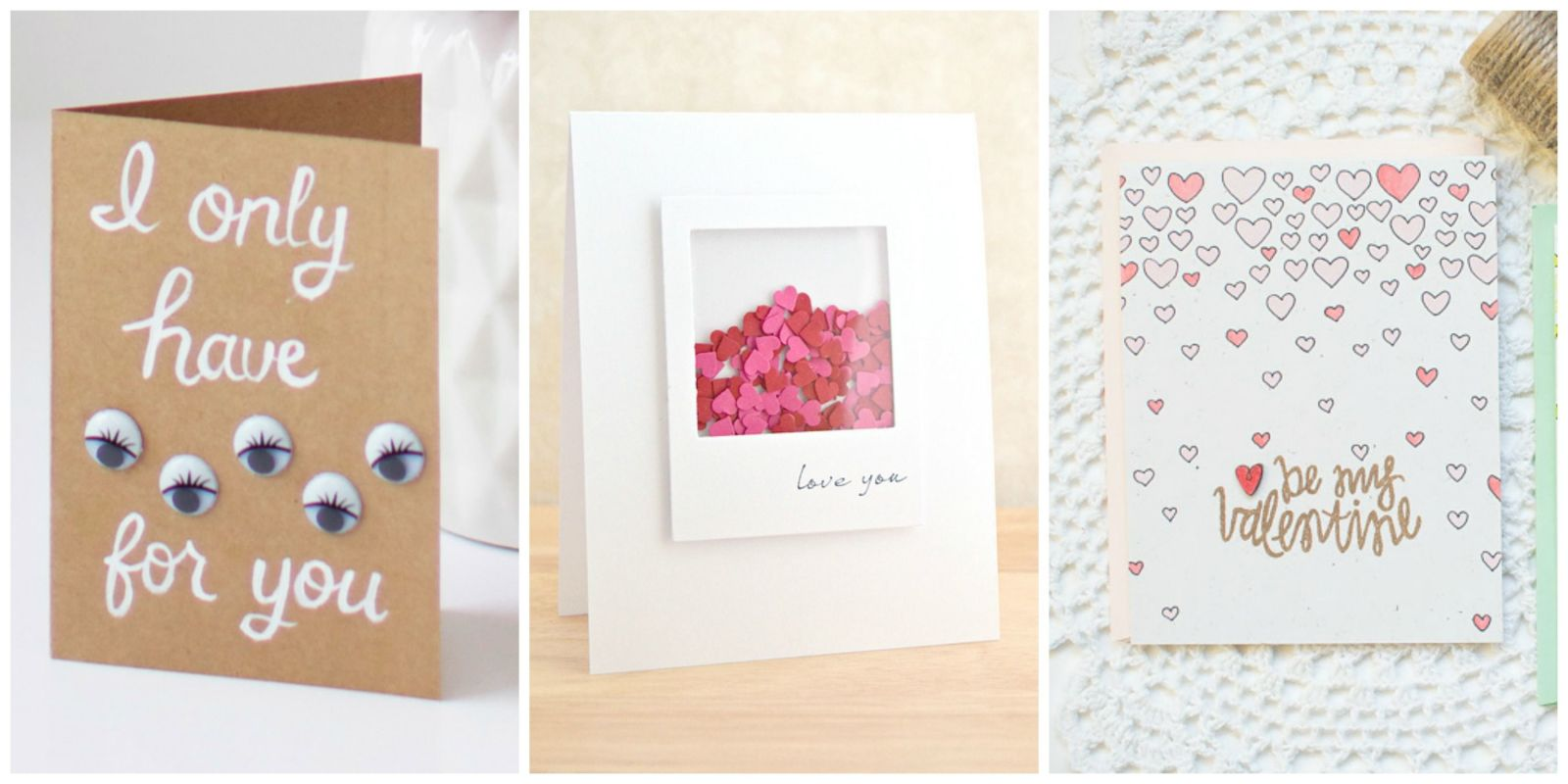 14 DIY Valentines Day Cards Homemade Ideas for Valentines Day Cards – Valentine Cards Box Ideas