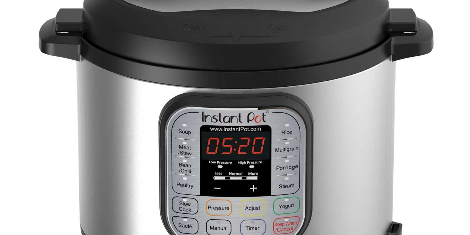Instant Pot DUO60 6 Qt 7 in 1 Multi Use Programmable Pressure Cooker Slow Cooke