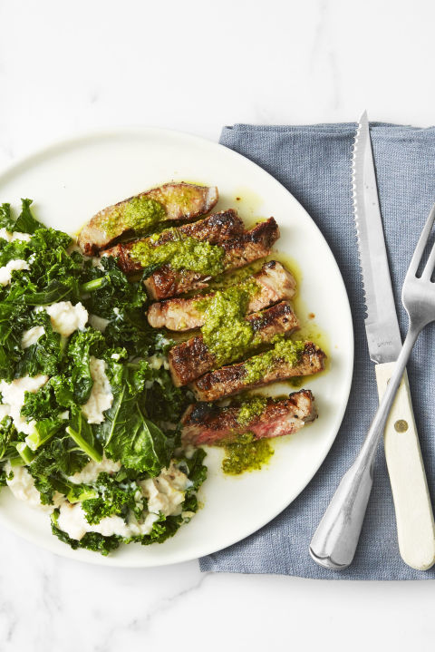 If you're feeling extra fancy this year, try making your own pesto.