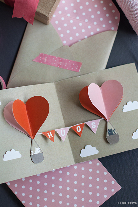 14 DIY Valentines Day Cards Homemade Ideas for Valentines Day Cards – Pop Up Valentines Day Card
