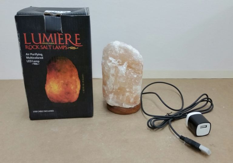 Himalayan Rock Salt Lamps Recalled Due to Fire Risk - Dangers of ...