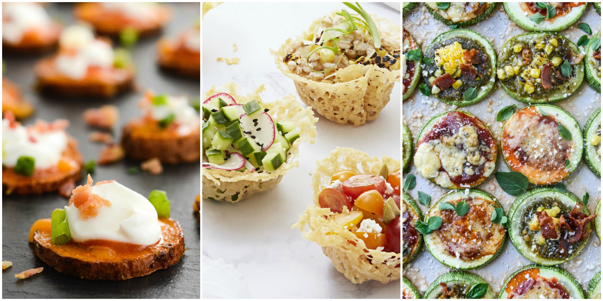 25 Easy Healthy Appetizers