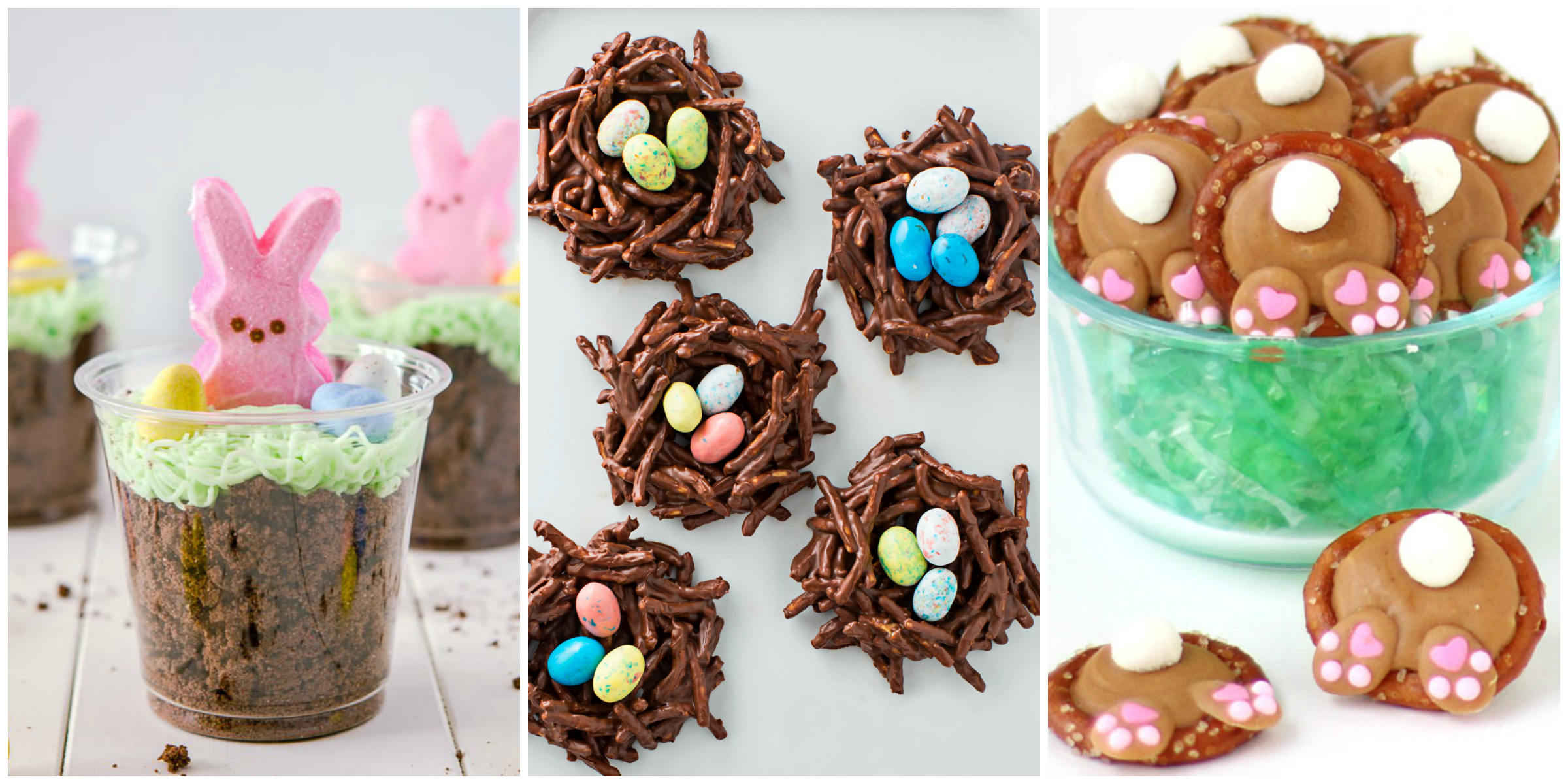 20 easy easter treats cute ideas for easter treats for kids for Quick and easy easter treats recipes