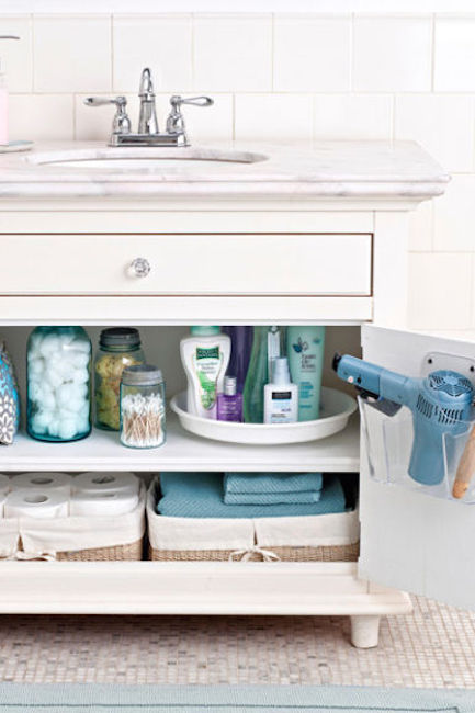 Start with a good purge. 17 Bathroom Organization Ideas   Best Bathroom Organizers to Try