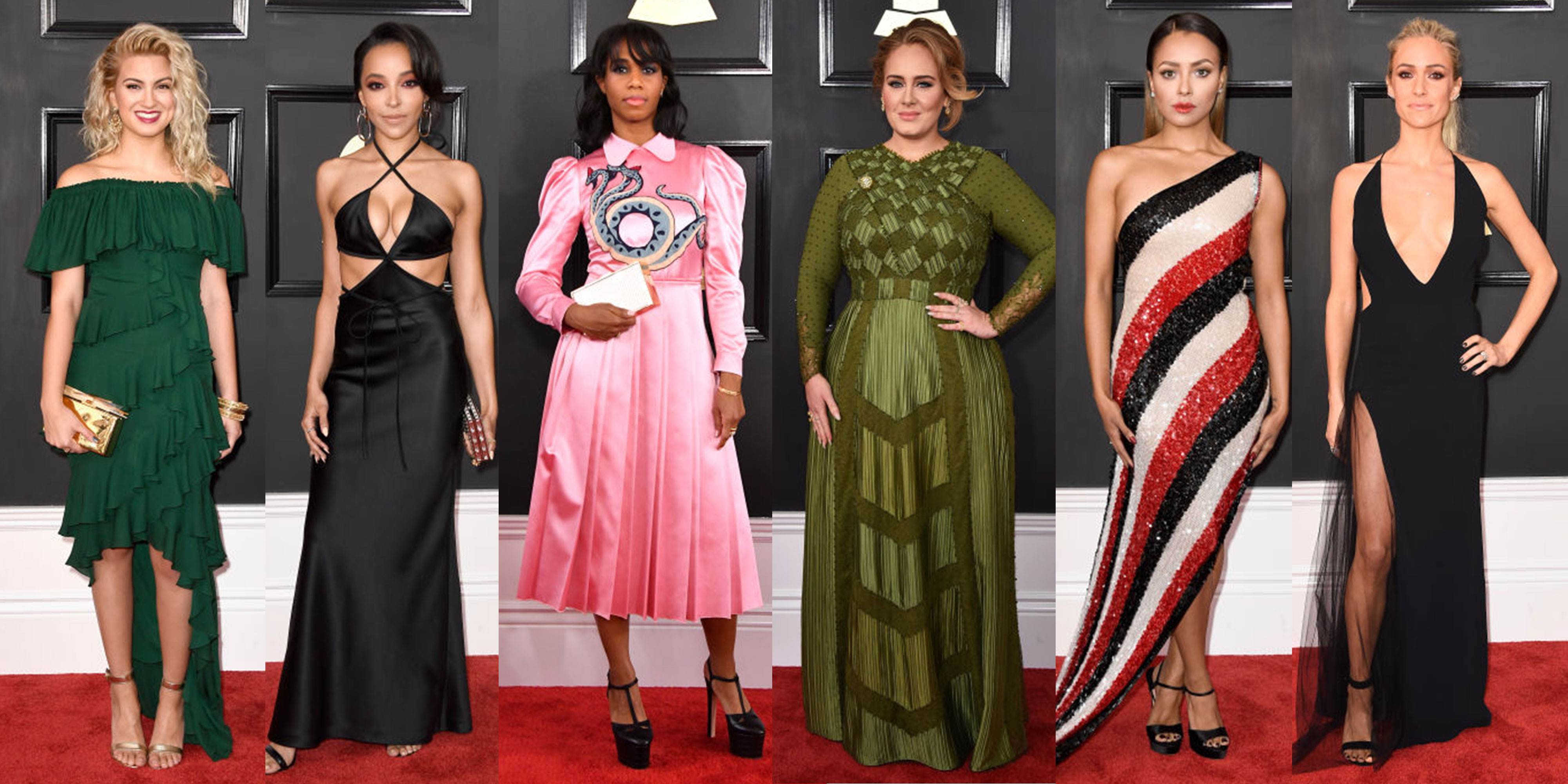 See All The Red Carpet Looks From 2017 Grammys