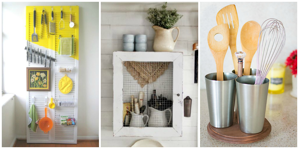 Diy Kitchen Utensil Organizers Kitchen Utensil