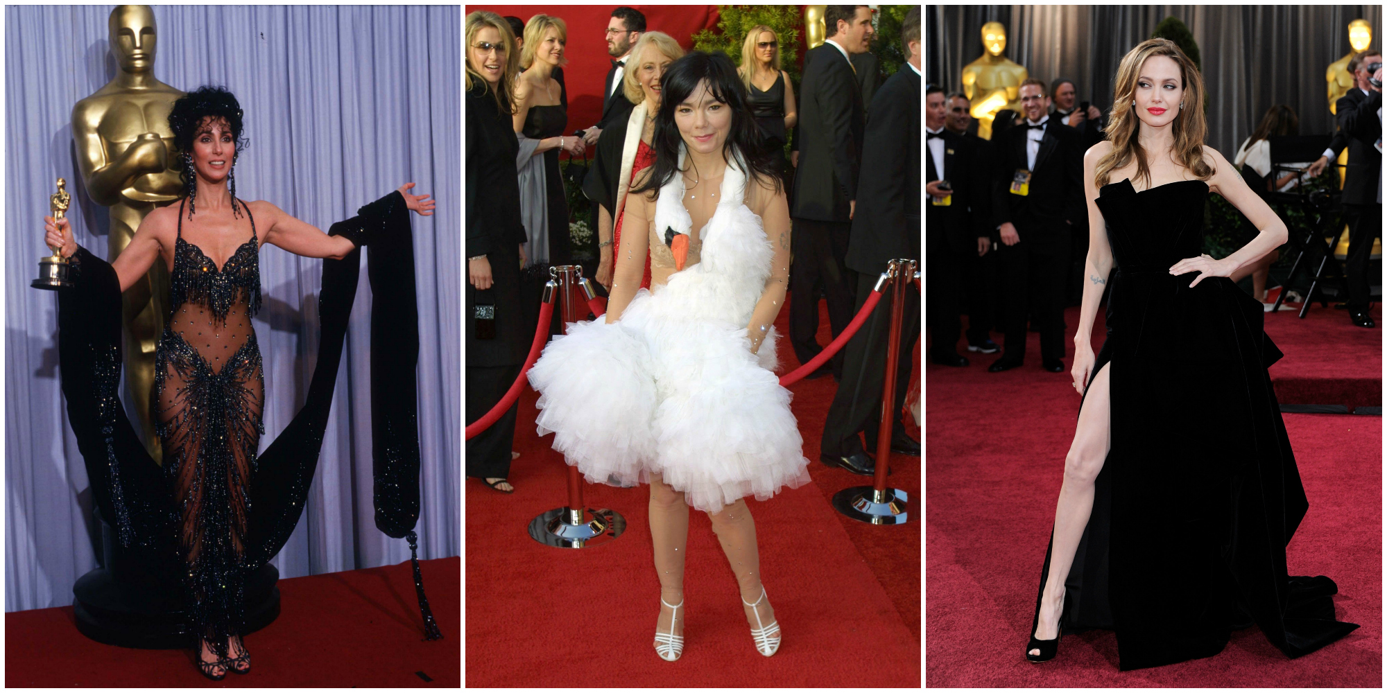36 Most Scandalous Oscars Dresses Of All Time Best And
