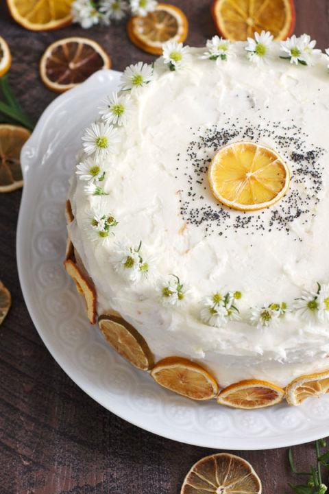 Lemon Layer Cake Gh