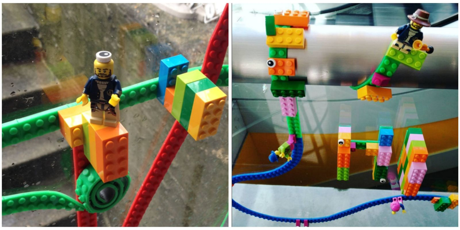 Get Your Kid Lego Tape And Watch Him Build A World On The