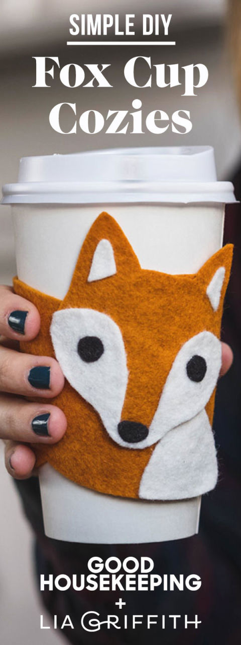 how to make a felt fox
