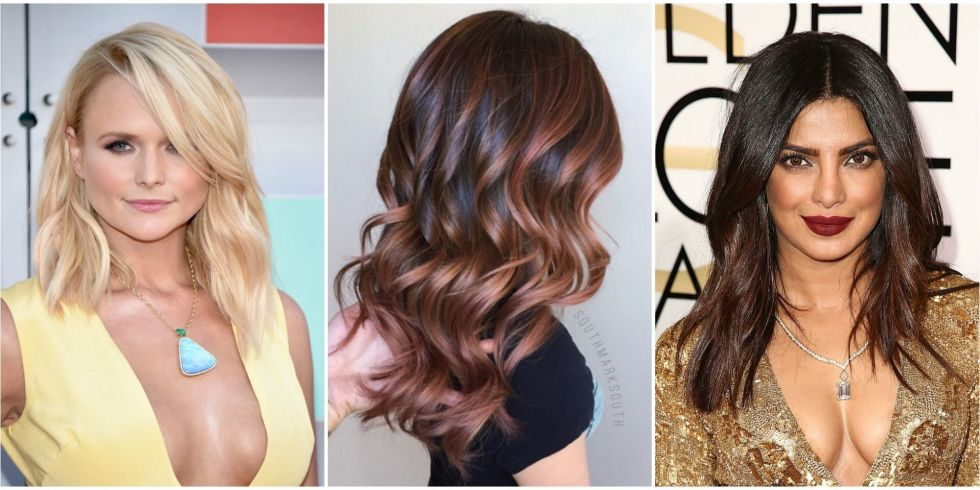 Popular hair color 2017