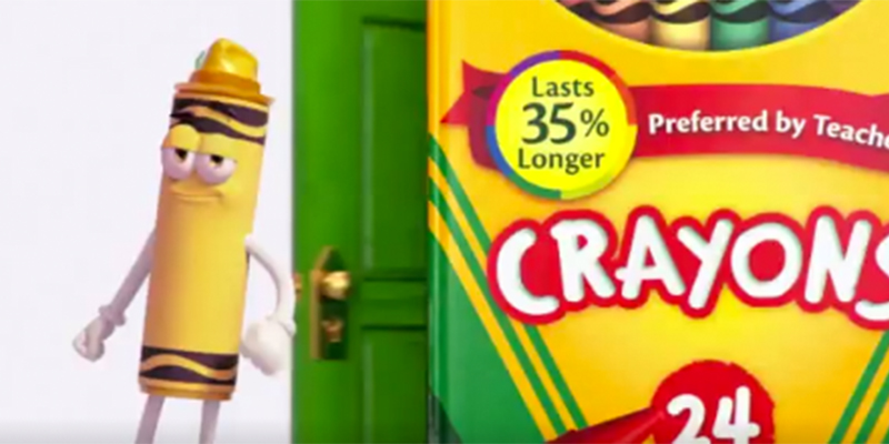 crayola retired dandelion from their 24 count crayon box