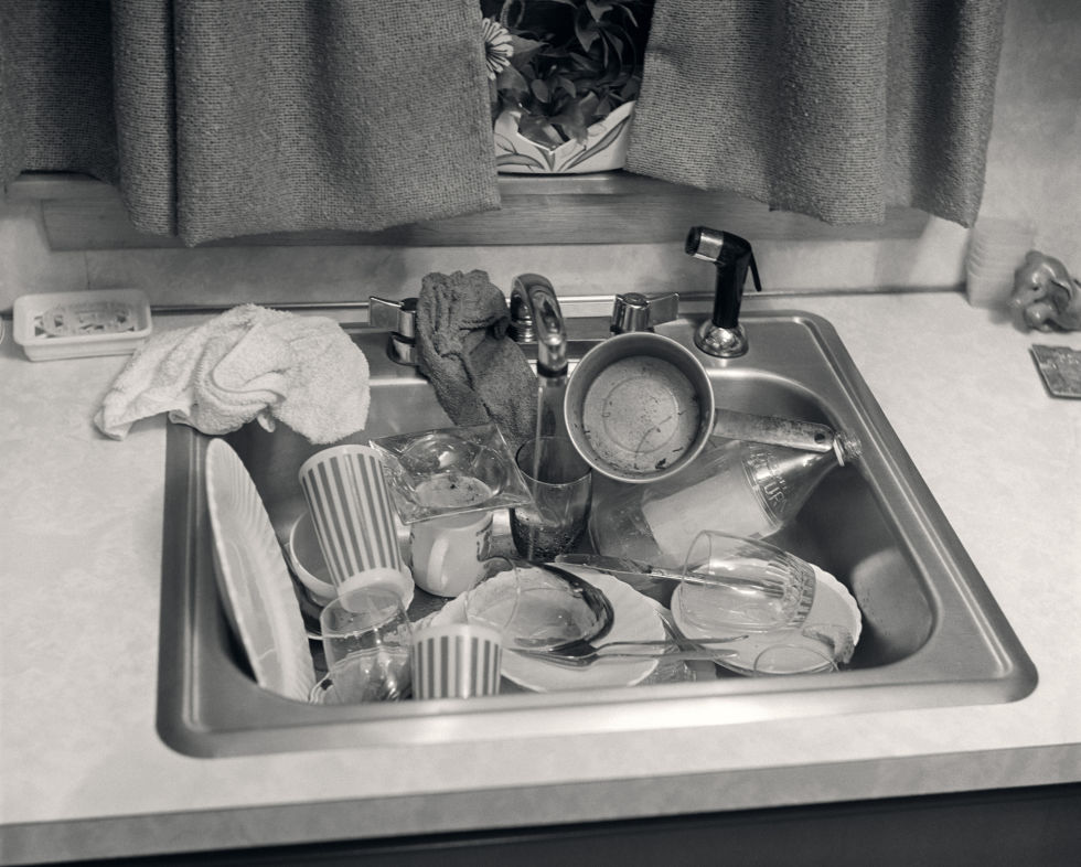 "Meaning bad in appearance, ""grody"" usually described people and places, but perhaps this gross pile of dishes could count as well. Though it's not mentioned in the OED, we also informally consider this the era of ""groovy."" The 50 best cleaning tips for every room of your house »"