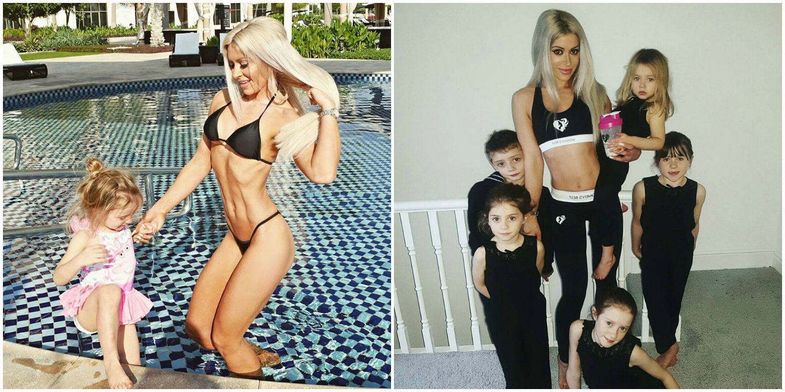 Fit Mom Fights Critics Who Say She Didn T Give Birth