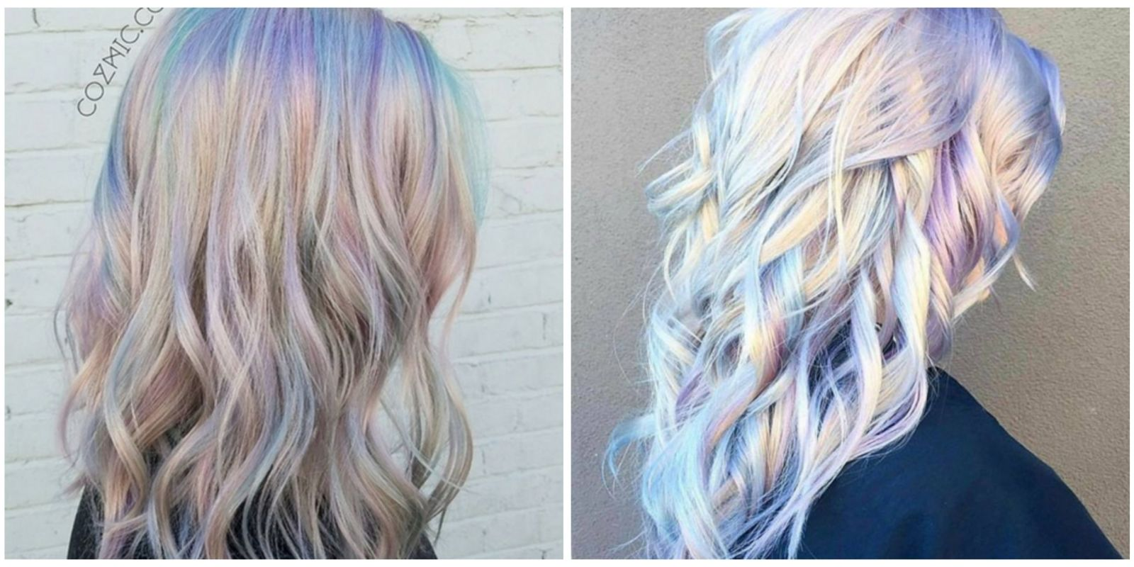 Holographic Hair Is The Latest 2017 Hair Trend