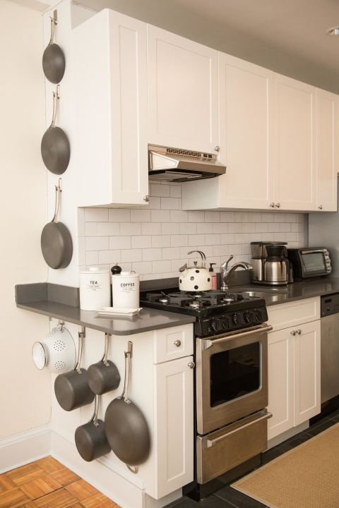 Hang Pots And Pans.