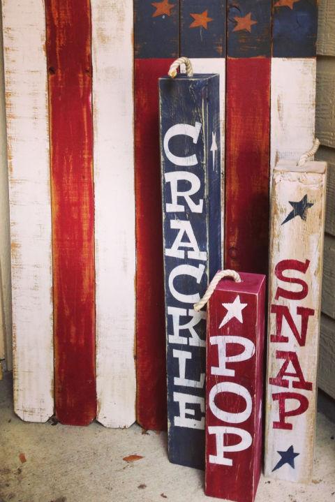 snap crackle and pop - Patriotic Decorations