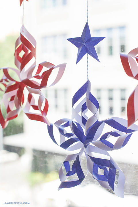 17 easy 4th of july crafts patriotic fourth of july diy for American style christmas decorations