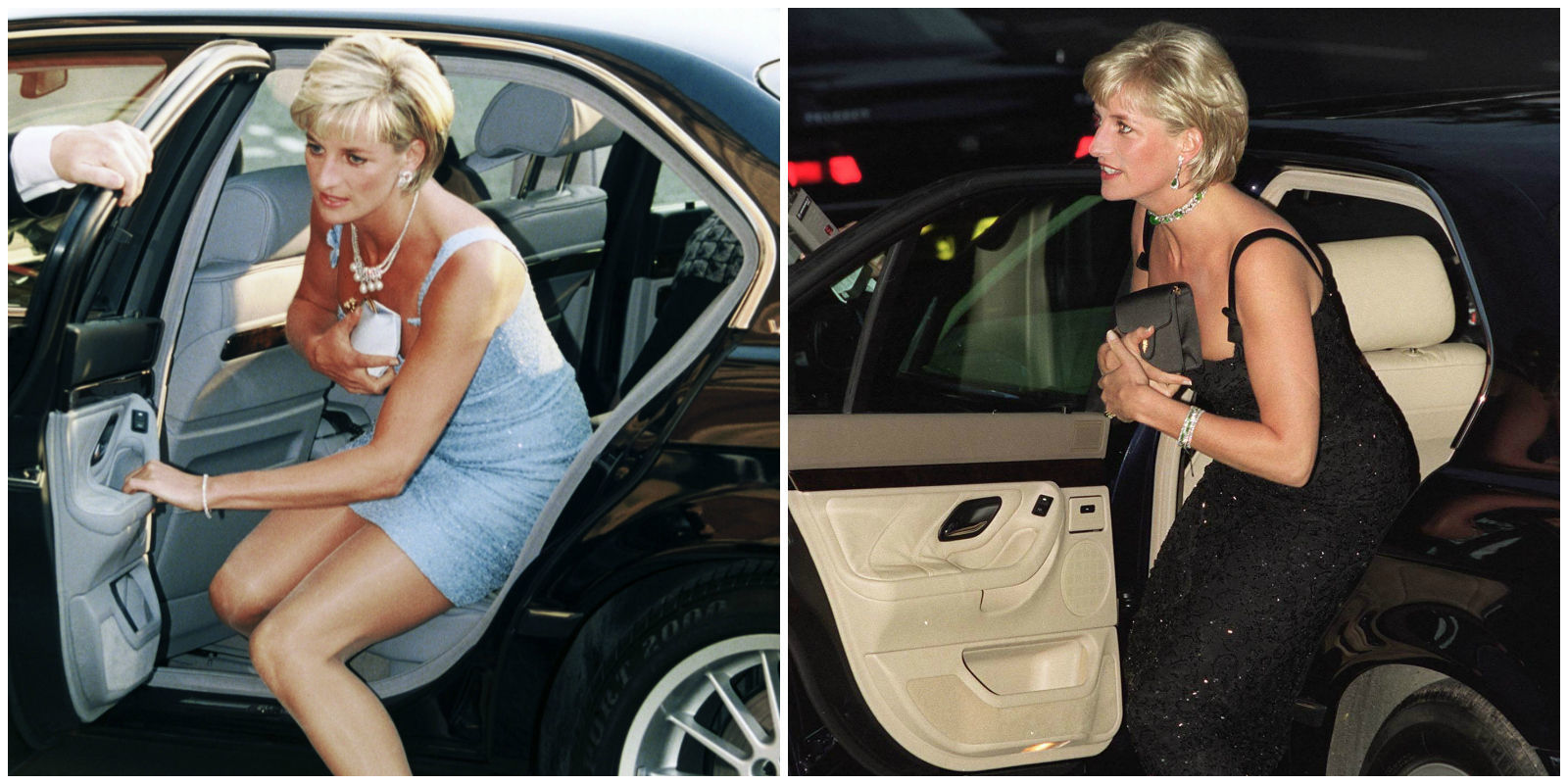 Princess Diana Called Her Clutches Cleavage Bags The