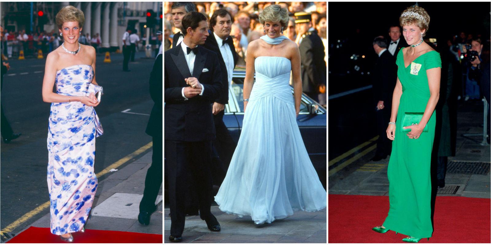 Princess Diana S 40 Best Dresses Royal Family Fashion