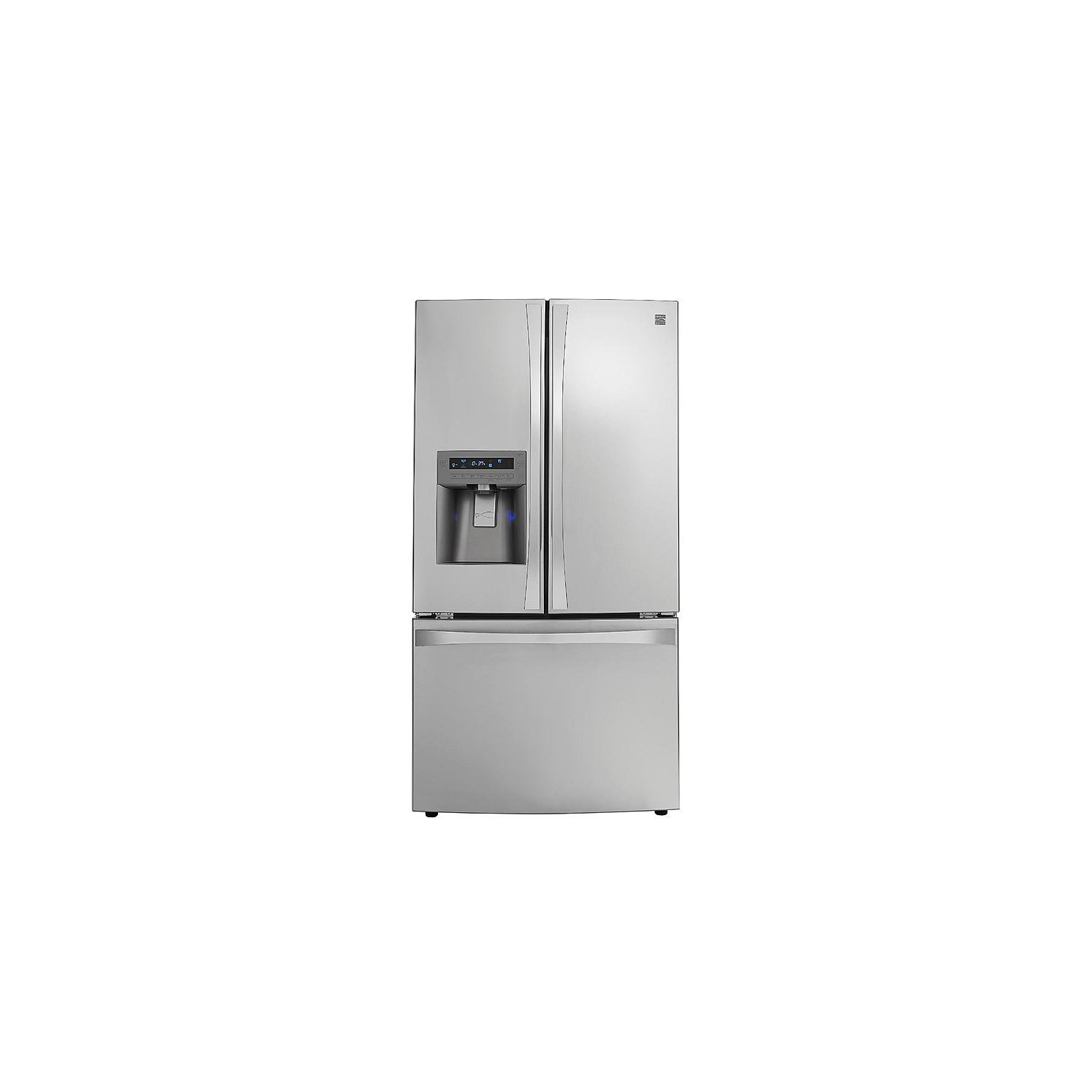 Whirlpool Gold French Door Refrigerator Reviews Part - 50: French Door Bottom-Freezer Refrigerator 04672093000 Review