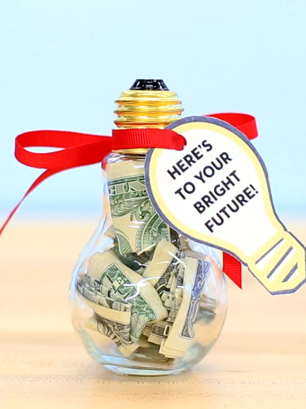 Creative ways to give money graduation gift ideas 3 bright idea negle Image collections