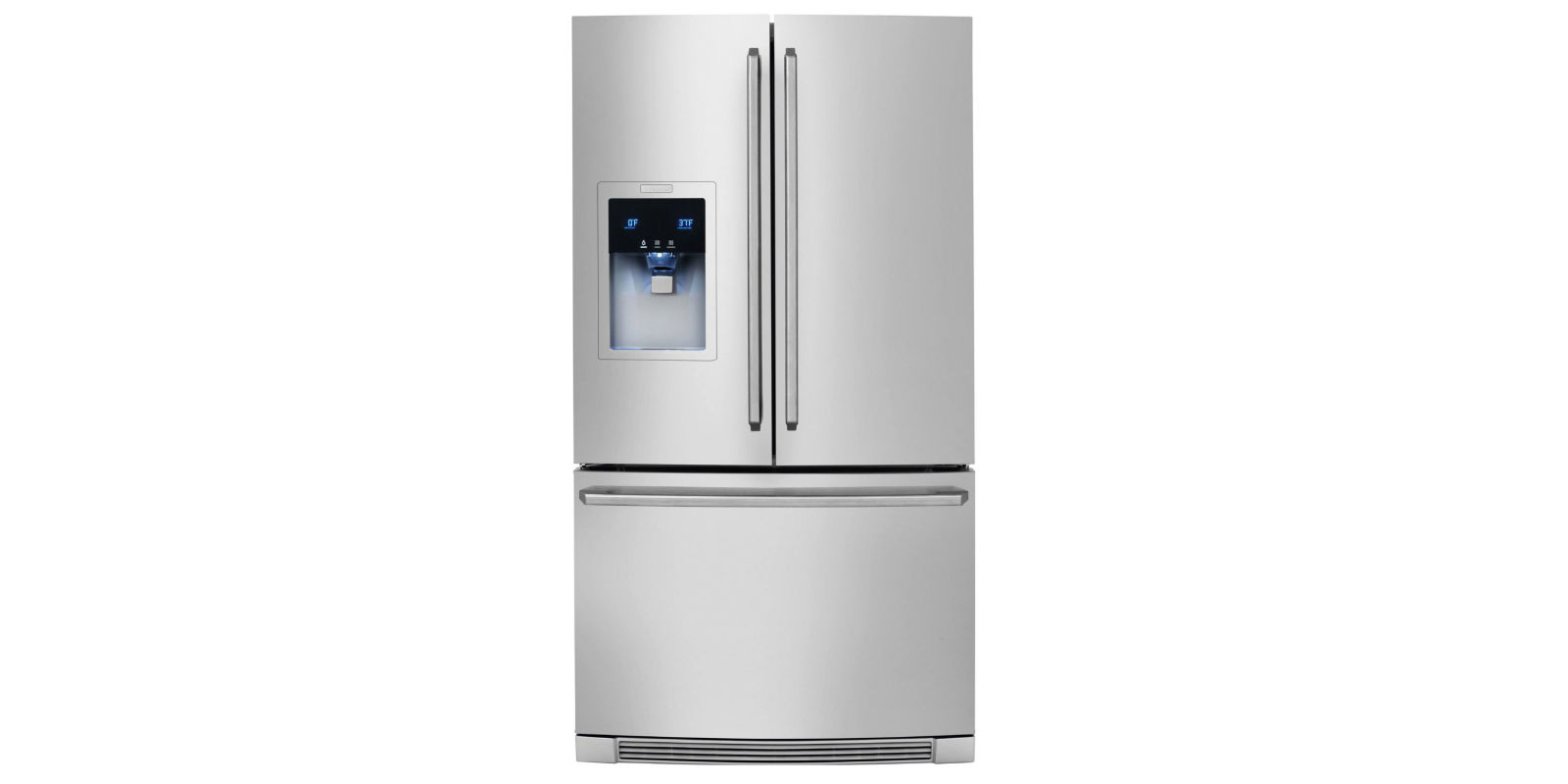 refrigerator electrolux. electrolux counter-depth french door refrigerator with wave-touch controls #ew23bc85k review
