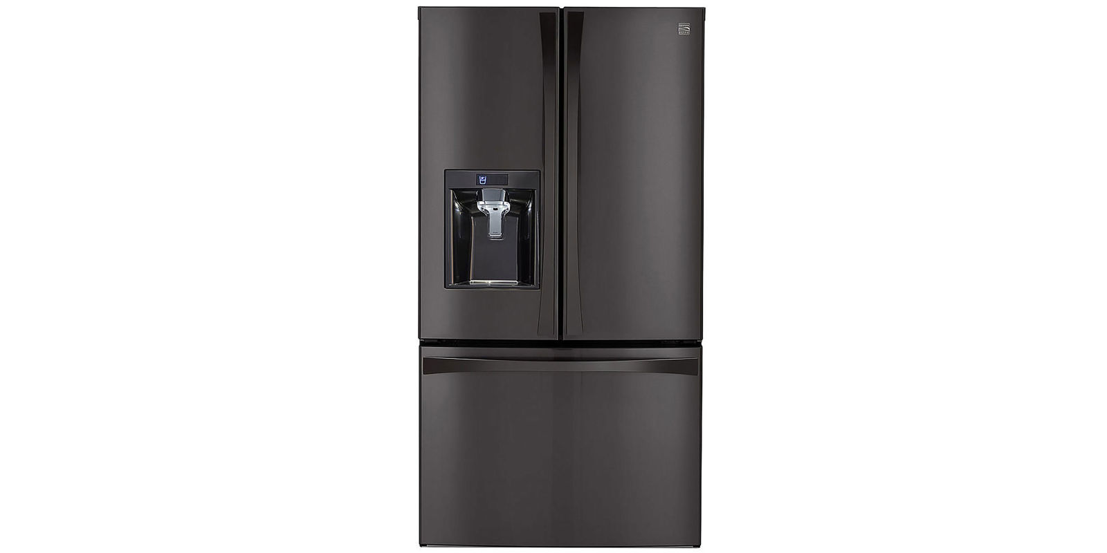 kenmore freezer. kenmore elite 29.8 cu. ft. french door bottom-freezer refrigerator 74027 review, price and features \u2013 pros cons of freezer