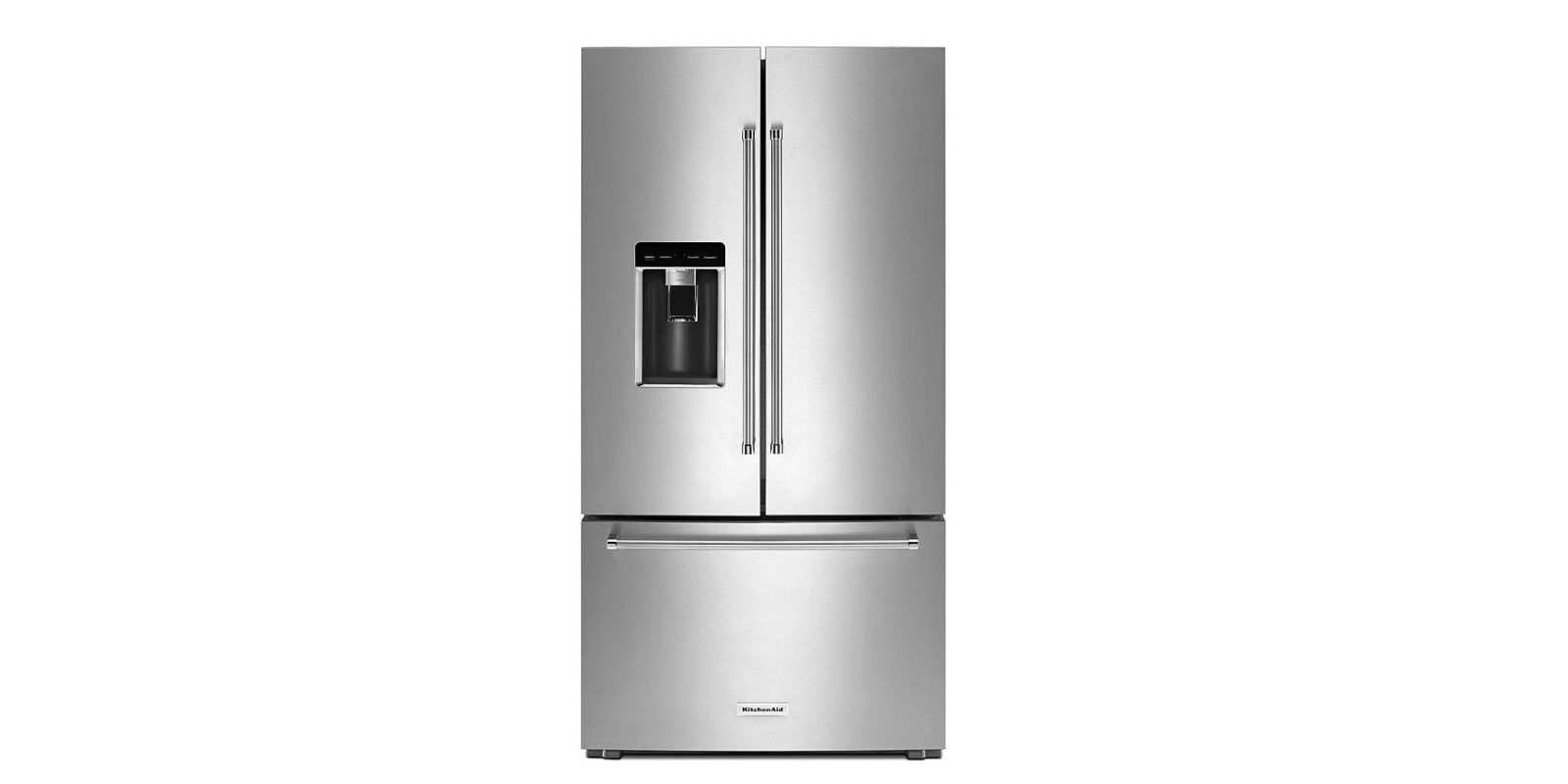 Charming KitchenAid 23.8 Cu. Ft. French Door Platinum Interior Refrigerator  KRFC704FPS Review, Price And Features U2013 Pros And Cons Of KitchenAid 23.8  Cu. Ft.