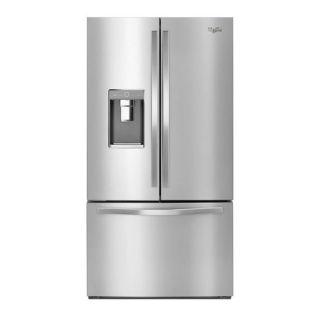 January 2017. Refrigerators. Whirlpool French Door Refrigerator WRF995FIFZ