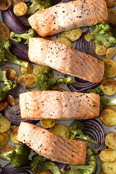 Not a fan of ham, chicken, or pork? Roast some salmon for your nearest and dearest family and friends.
