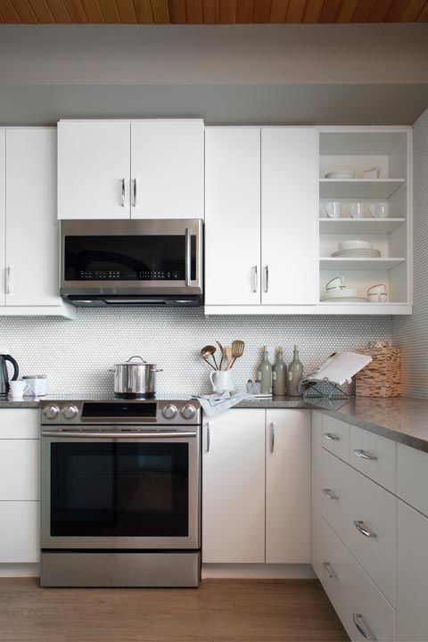 """Even though your stove, microwave or fridge might not lookdirty, Forte says they're probably covered in things you can't see.""""Kitchen appliances need to be cleaned of fingerprints and food bits."""" Runadisinfectant wipe($9, amazon.com) over them each week to prevent build-up."""