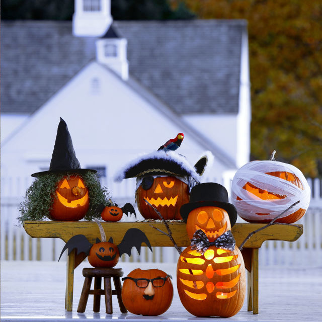 2017 halloween decor food and costumes - Halloween Decorations Pumpkins