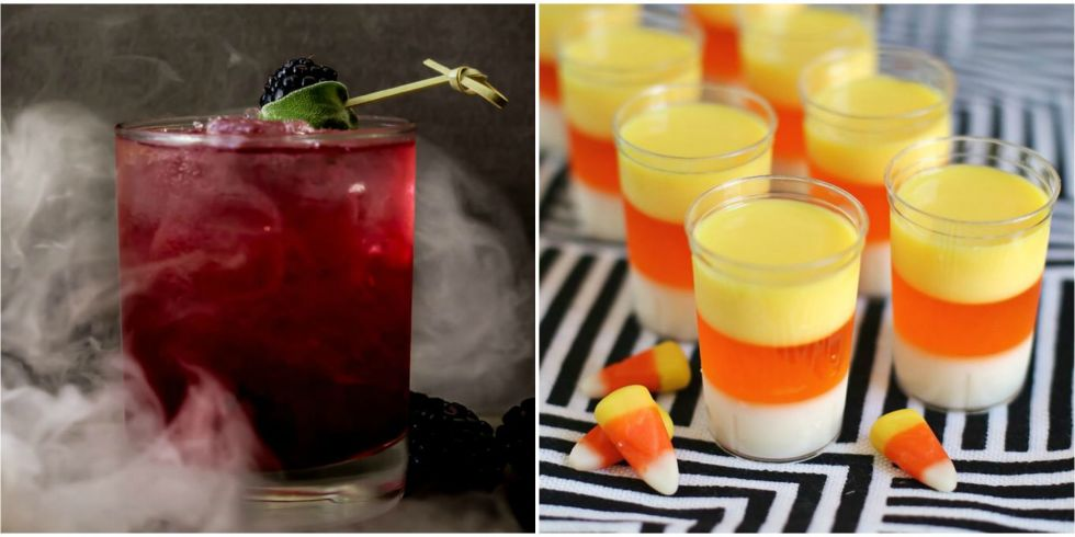 35 photos - Halloween Themed Alcoholic Shots