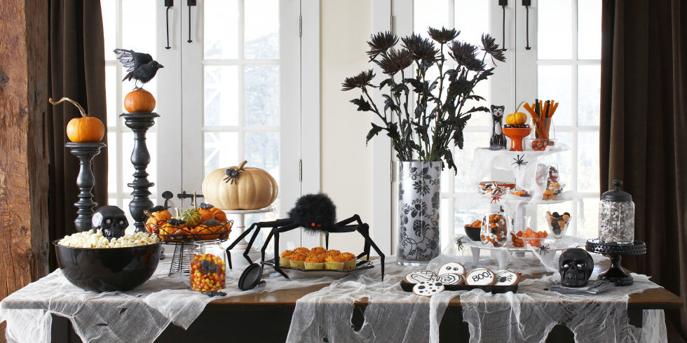 view gallery - Homemade Halloween Party Decorations