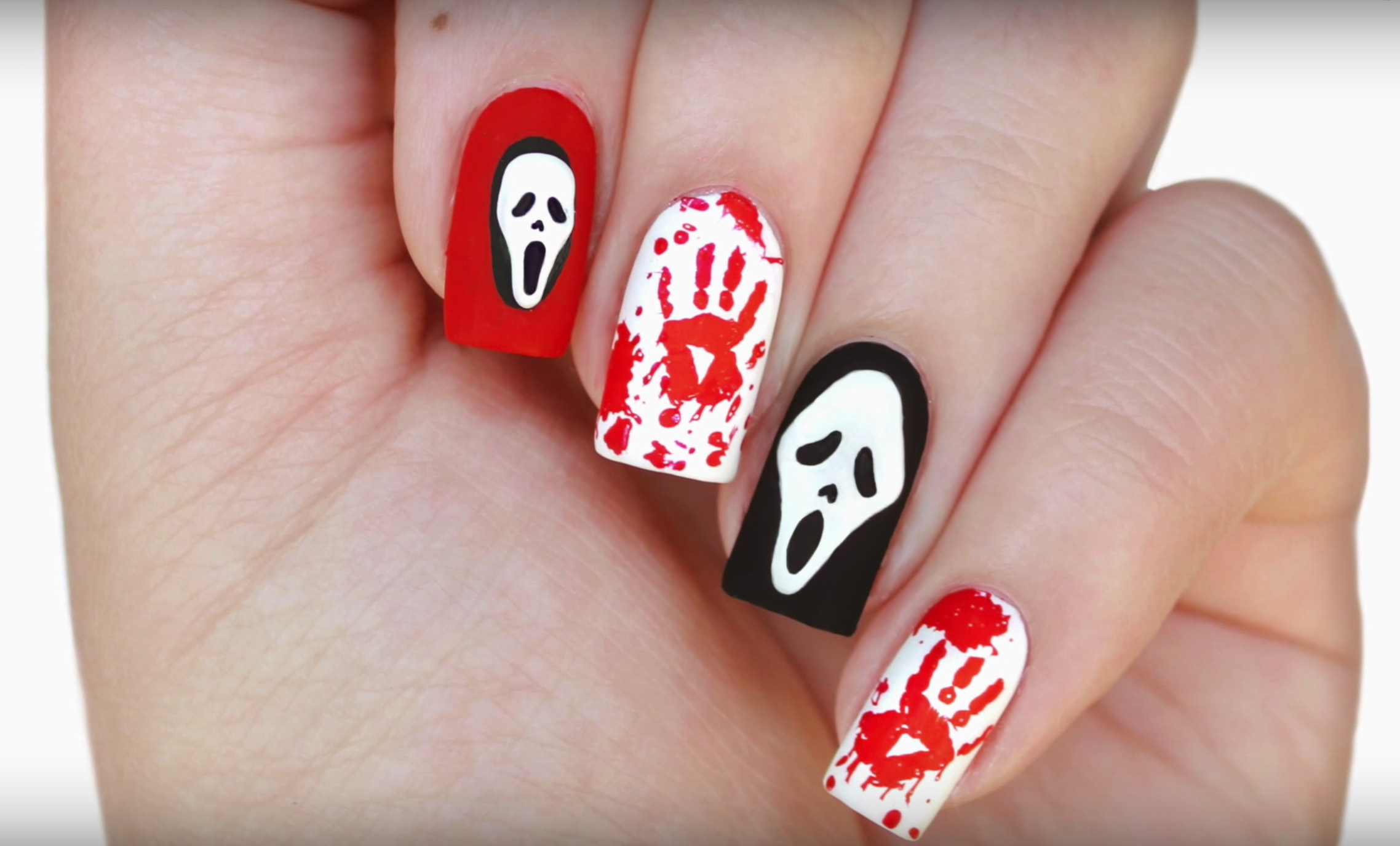 50+ Halloween Nail Art Ideas - Easy Halloween Nail Polish ...