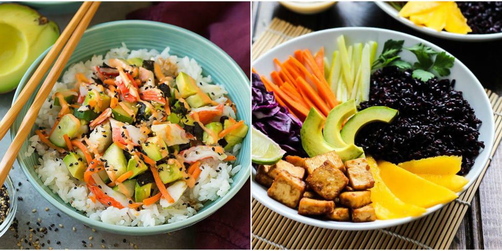 25 easy rice bowl recipes how to make healthy rice bowls for dinner rice bowl recipes forumfinder Image collections