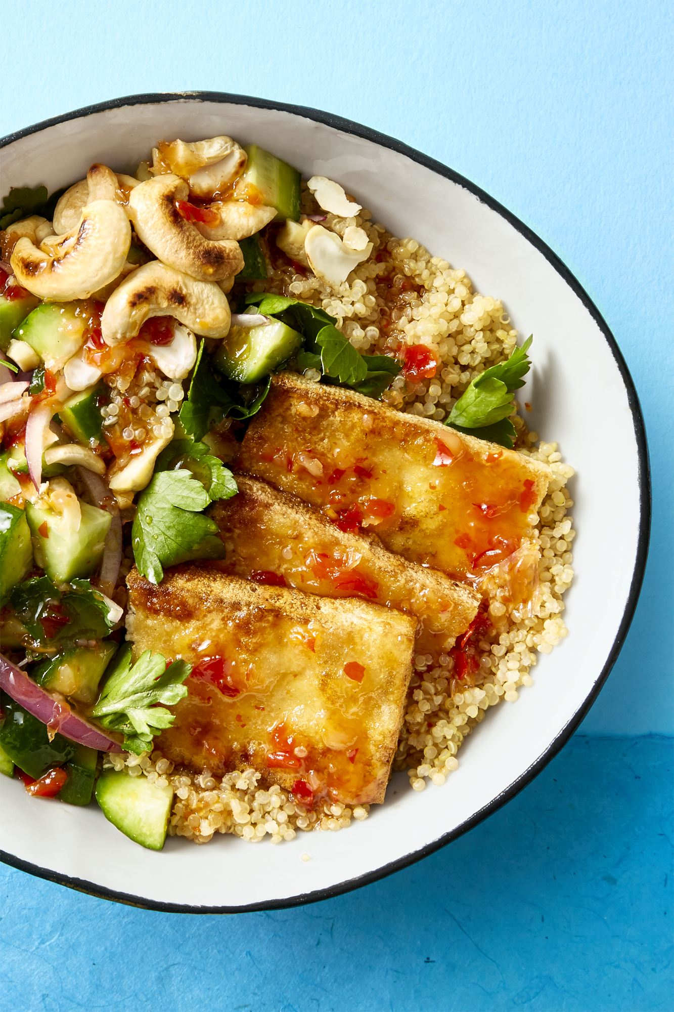 How To Make Crispy Tofu Bowl