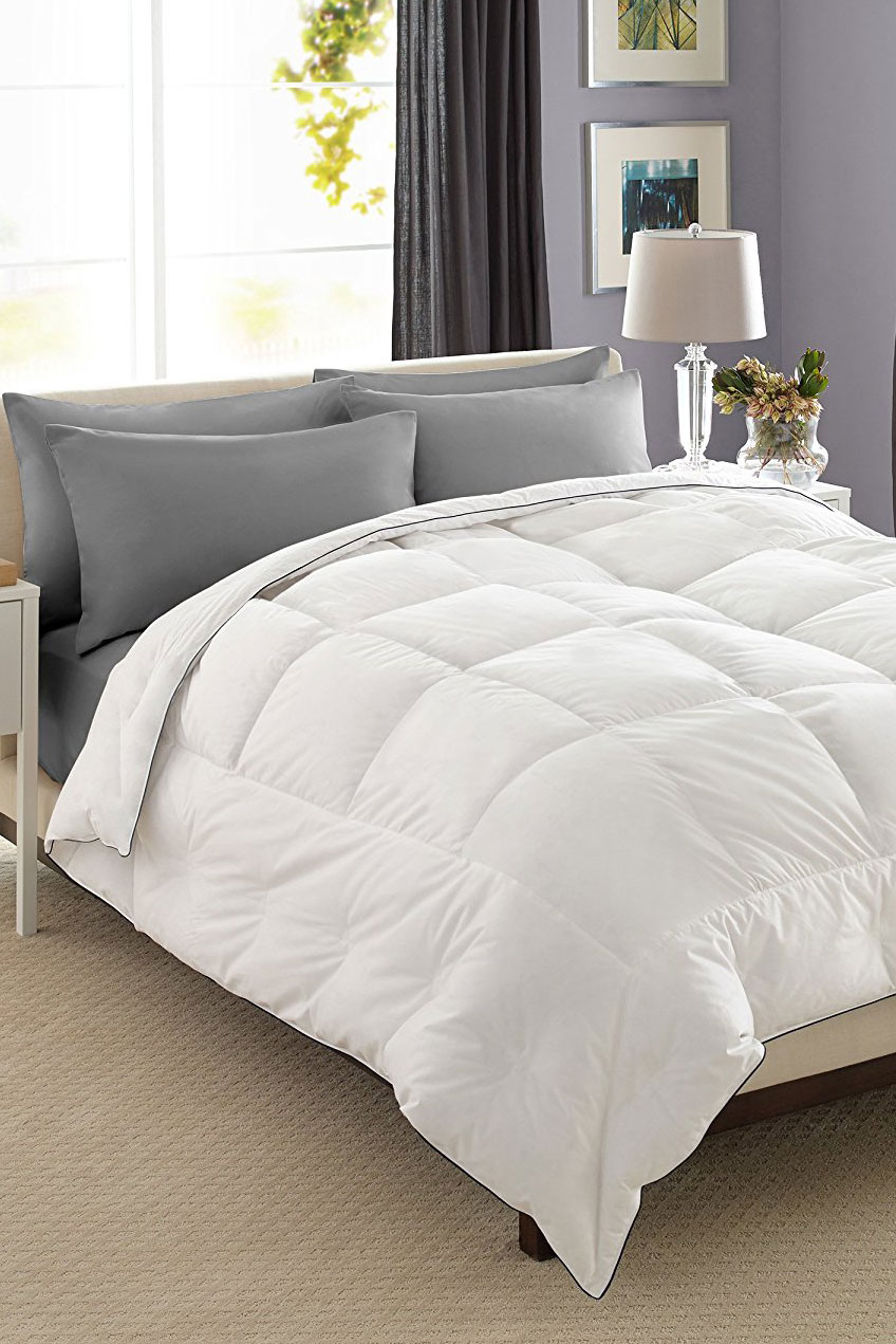 15 Best Down Comforter Reviews - Top Rated Goose Down Comforters