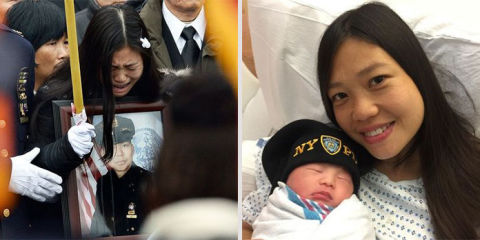 NYPD Officers Widow Gives Birth to Their Baby More Than 2 Years After His Murder advise