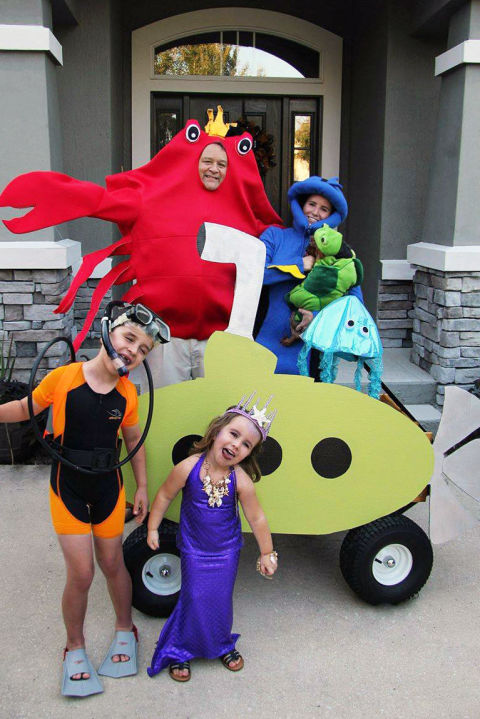 Group Costume Ideas Kid Friendly