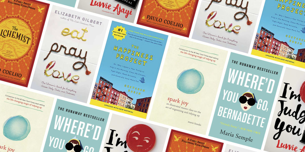 Colors That Make You Happy 60 books that make you happy - books to change your life