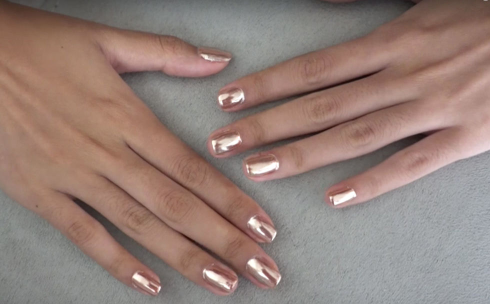 Rose Gold Sns Nails | Best Nail Designs 2018