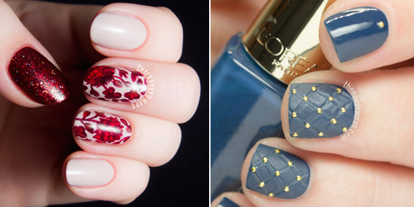 25 Photos - 25 Thanksgiving Nail Art Designs - Ideas For November Nails