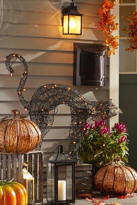 15 Best Outdoor Halloween Decoration Ideas Creative